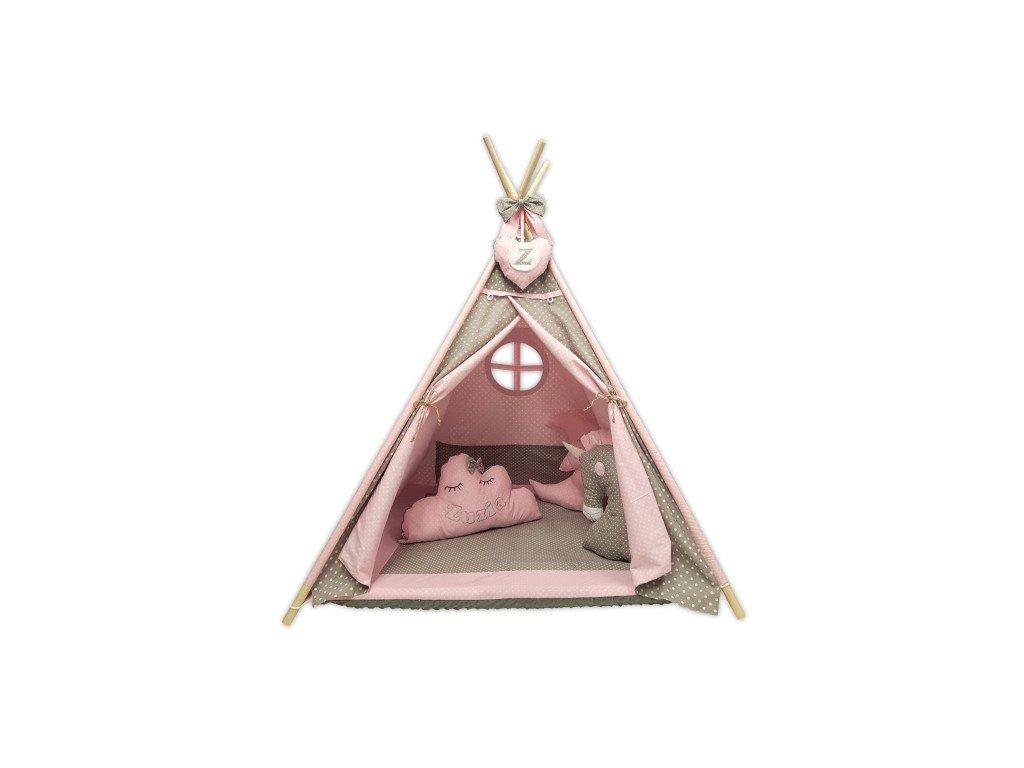 Felhőcske indián sátor, párnácska névvel