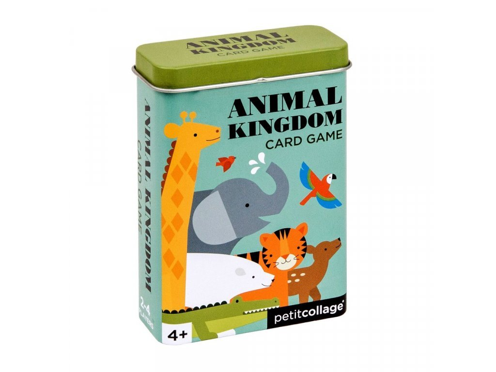 Állatvilág kártya pléh dobozban