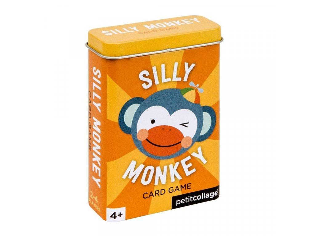 Buta majom kártya pléh dobozban