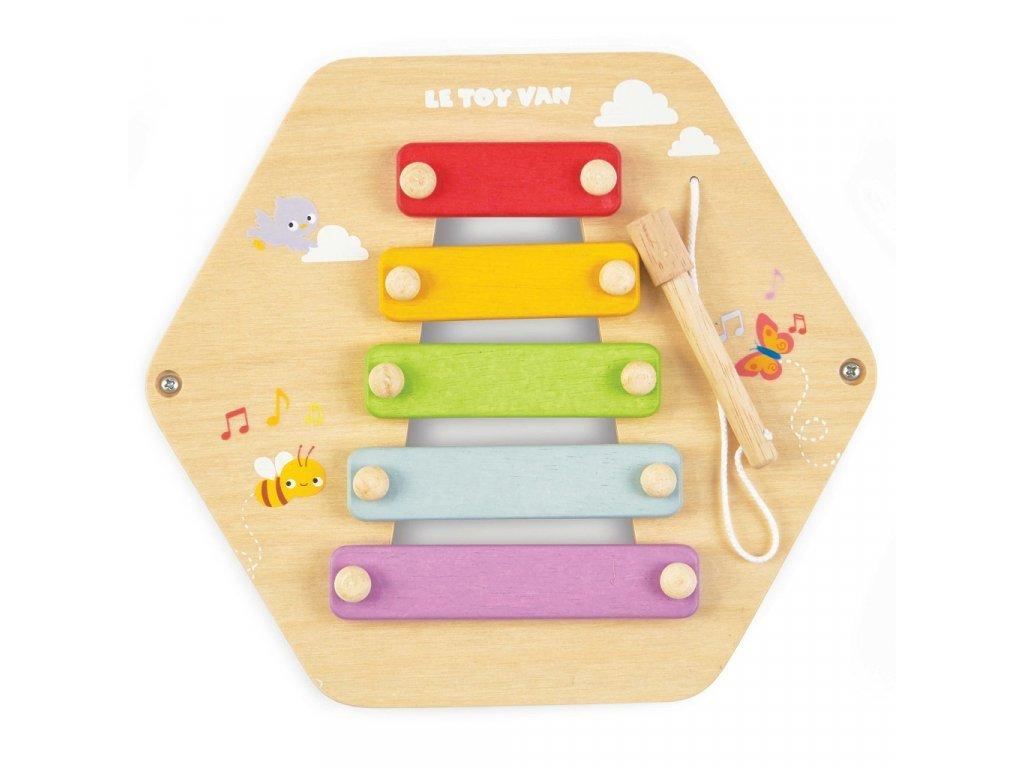 Petilou játékpanel xilofon