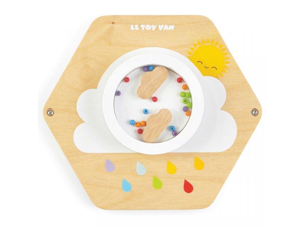 Petilou játékpanel színes eső