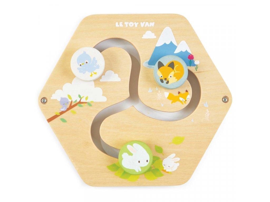 Petilou játékpanel labirintus