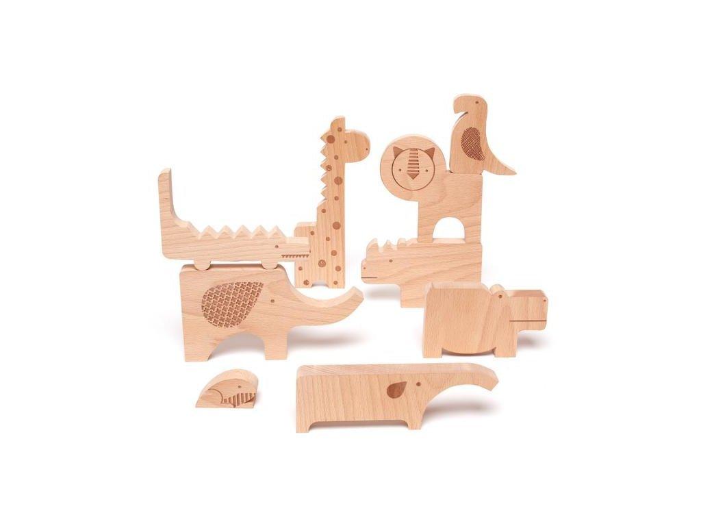 Szórakoztató szafari puzzle