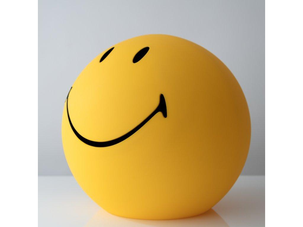 Smiley lámpa oldalról