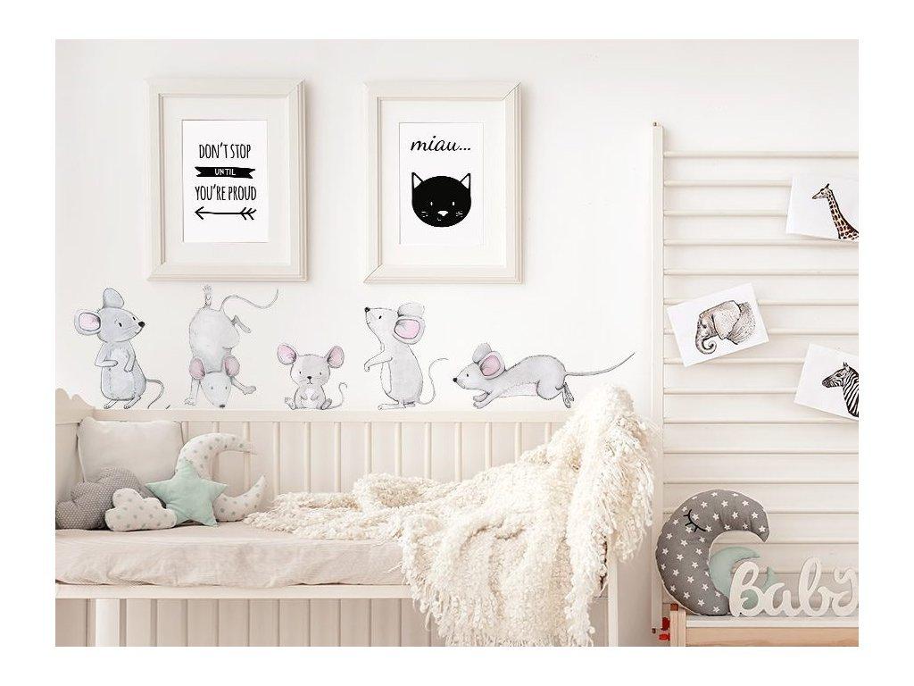 Falmatrica - állatkák - egér család