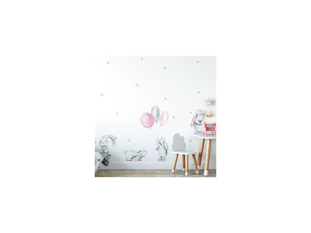 Falmatrica - pasztellszínű nyuszik