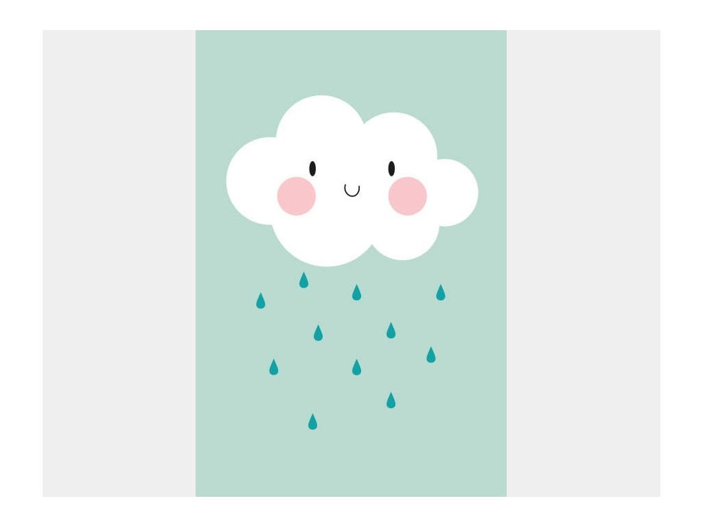 Plakát - Mentás felhő