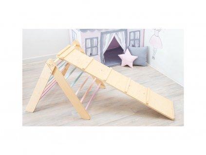 Montessori háromszög mászóka szett 2020