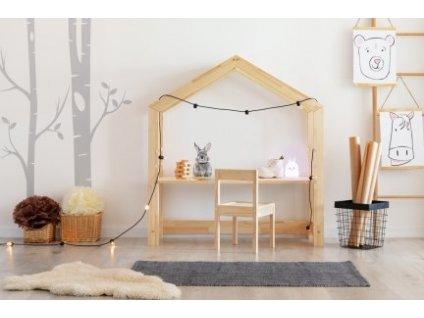 Házikó gyerek asztal classic 40x100 cm