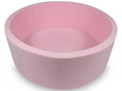 Kislányos kör alakú száraz gyerekmedence 110x40 cm