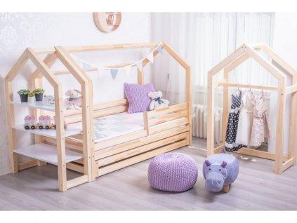 Prémium házikó ágy