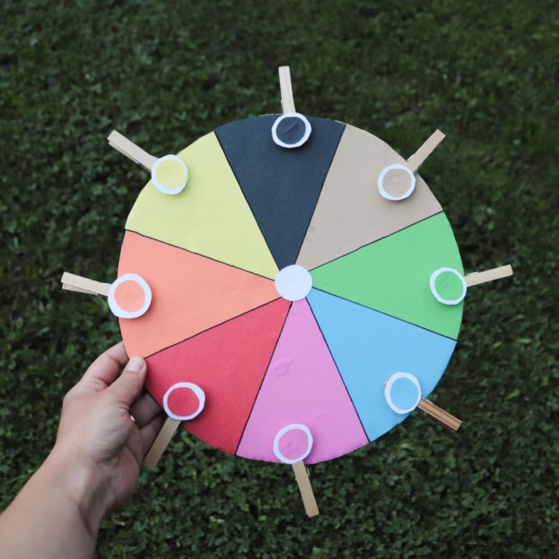 DIY - Paleta farieb