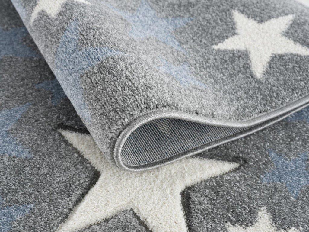 koberec do detskej izby s motívom hviezd v kvalitnom nemeckom prevedení