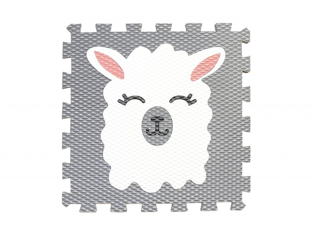 penové puzzle podložky kvalitné lama 1