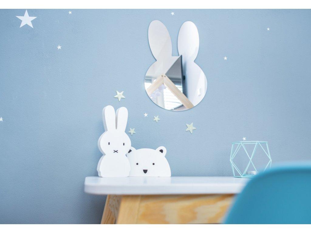 zrcátko do dětského pokoje balonek