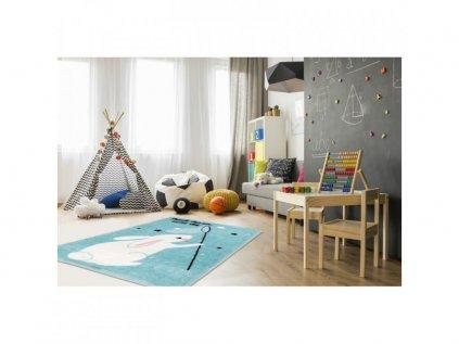 detská izba a koberček