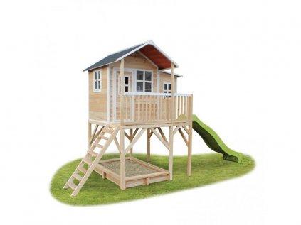 velky natural zahradny domcek pre deti