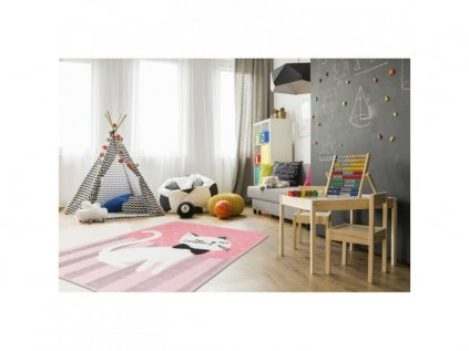 izba mačička koberec