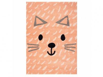 detský koberec s mačkou