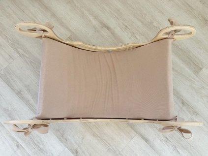 Pružný šedý poťah alebo polstrovanie na montessori dúhovú hojdačku 5in1 ELIS DESIGN