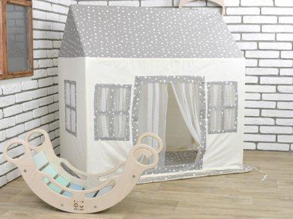 Domček na hranie pre deti Kráľovstvo hviezd luxury