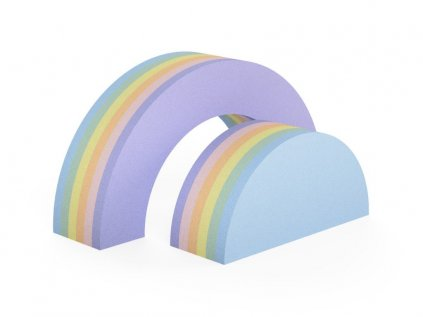 Kvalitná multifunkčná dúha pastelová stredná