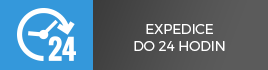 Expedice produktů do 24h