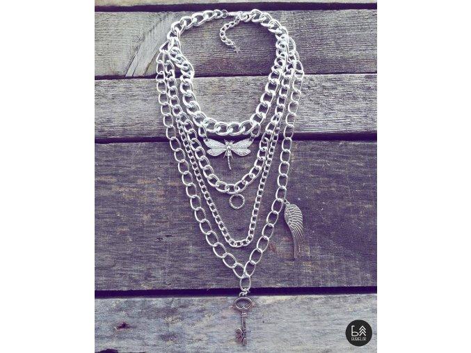 BUDJELAR náhrdelník MONA