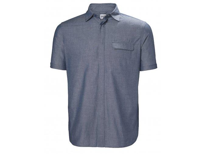 Košile s krátkým rukávem HELLY HANSEN HUK SS SHIRT