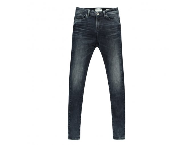 7503893 OTILA DENIM BLACK BLUE ze předu