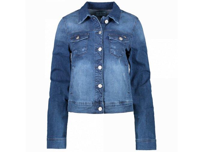 Dámská jeans bunda JORINDA LADIES DARK USED CARS JEANS