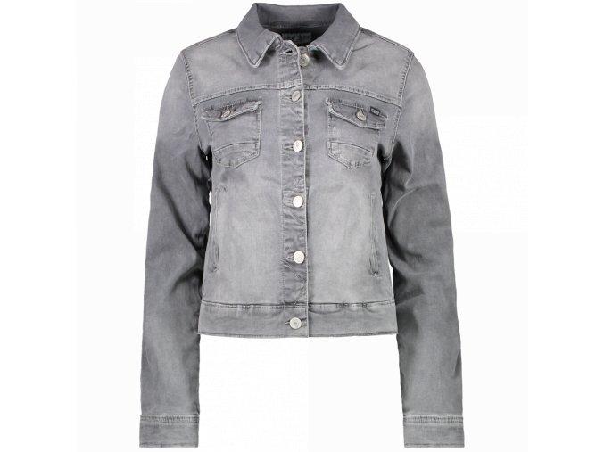 Dámská jeans bunda JORINDA LADIES GREY USED CARS JEANS