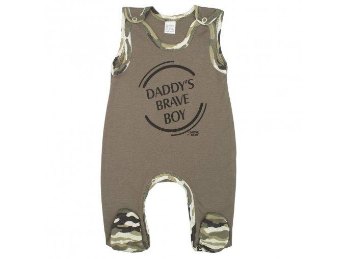 Kojenecké dupačky New Baby Army boy (1)