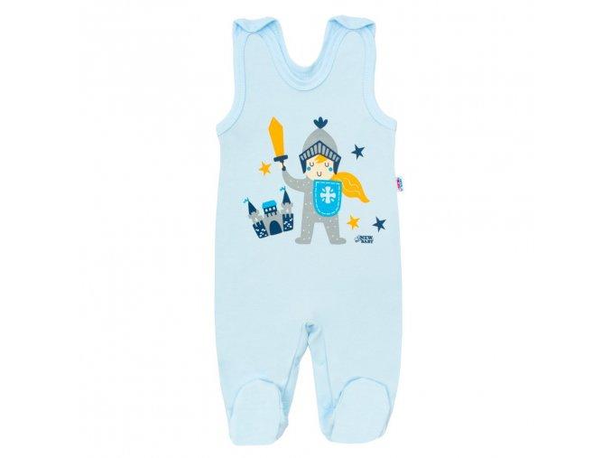 Kojenecké bavlněné dupačky New Baby Knight (1)