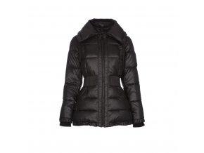 Prošívaná bunda s velkým límcem, dvojzipem a pružným pasem HALIFAX