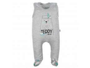 Kojenecké bavlněné dupačky New Baby Wild Teddy (1)