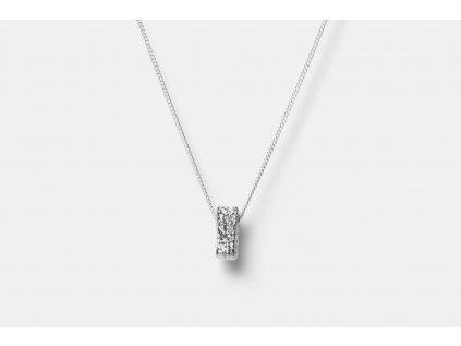 New Archeology Artefakt stříbrný řetízek hranatý Ag 925/1000