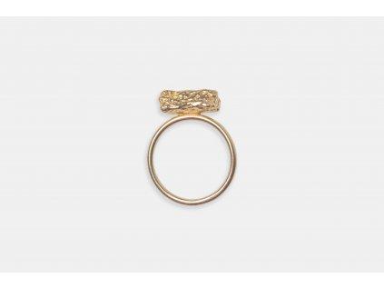 NEW ARCHEOLOGY Artefakt pozlacený prsten drobek