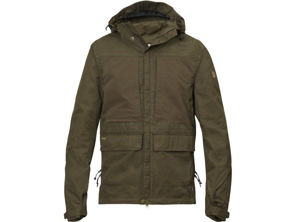 Bunda Fjällräven Lappland Hybrid Jacket (dark olive)