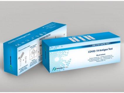 COVID-19 Antigen Rapid Test Kit (Swab) - sada 5ks Safecare BIOTECH