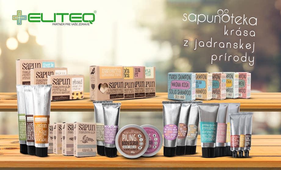 Chorvátska prírodná kozmetika Sapunoteka