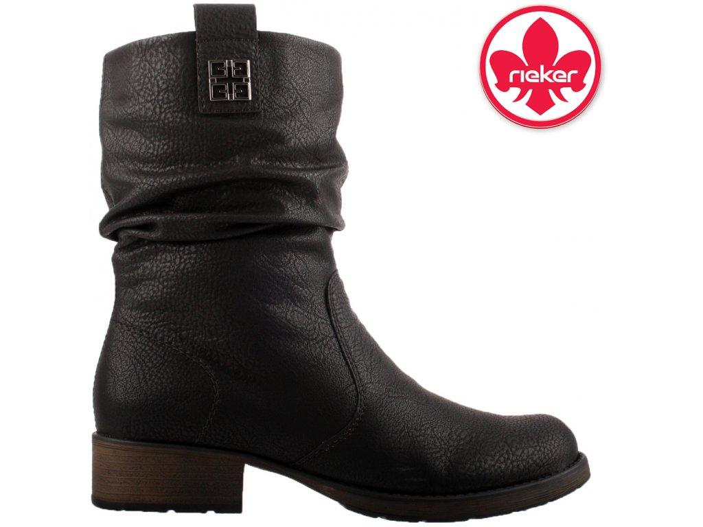Dámská kotníková obuv RIEKER Z9583-00 černá