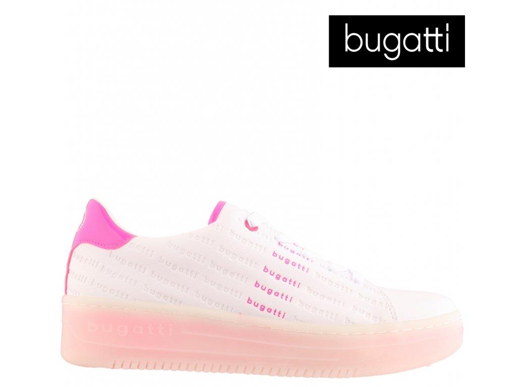 Dámské šněrovací tenisky sneaker´s boty 432-86601-5057-2036 Bugatti výprodej 75243206