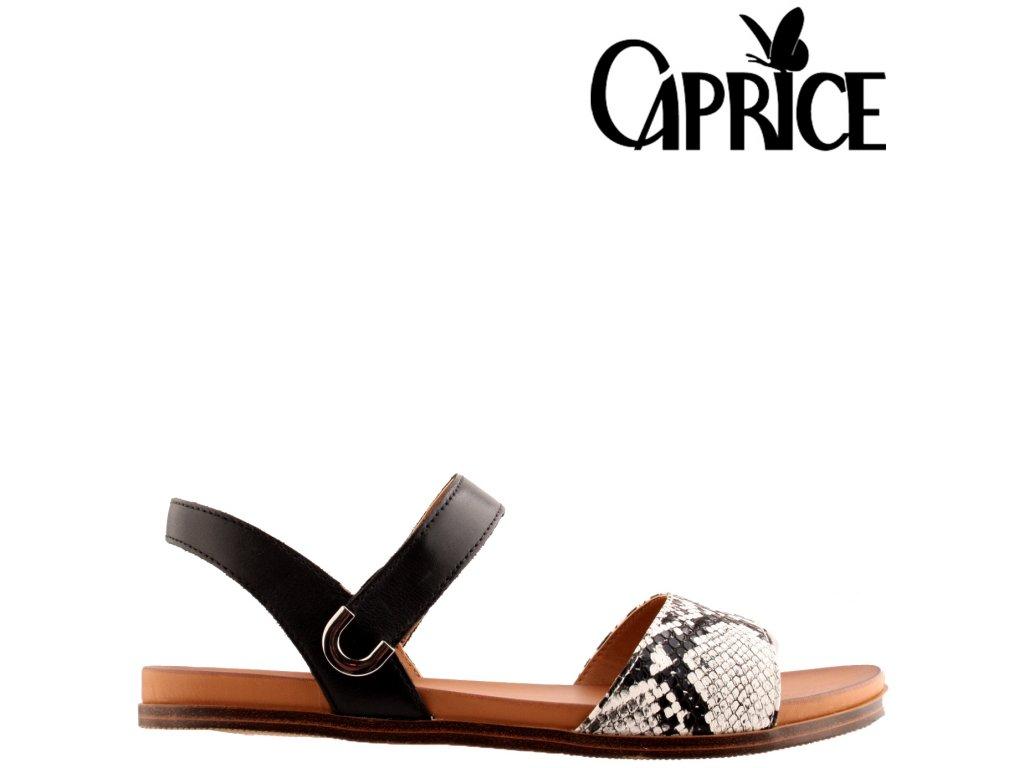 Kožené dámské sandály Caprice 9-28103-24 Sleva 78985617
