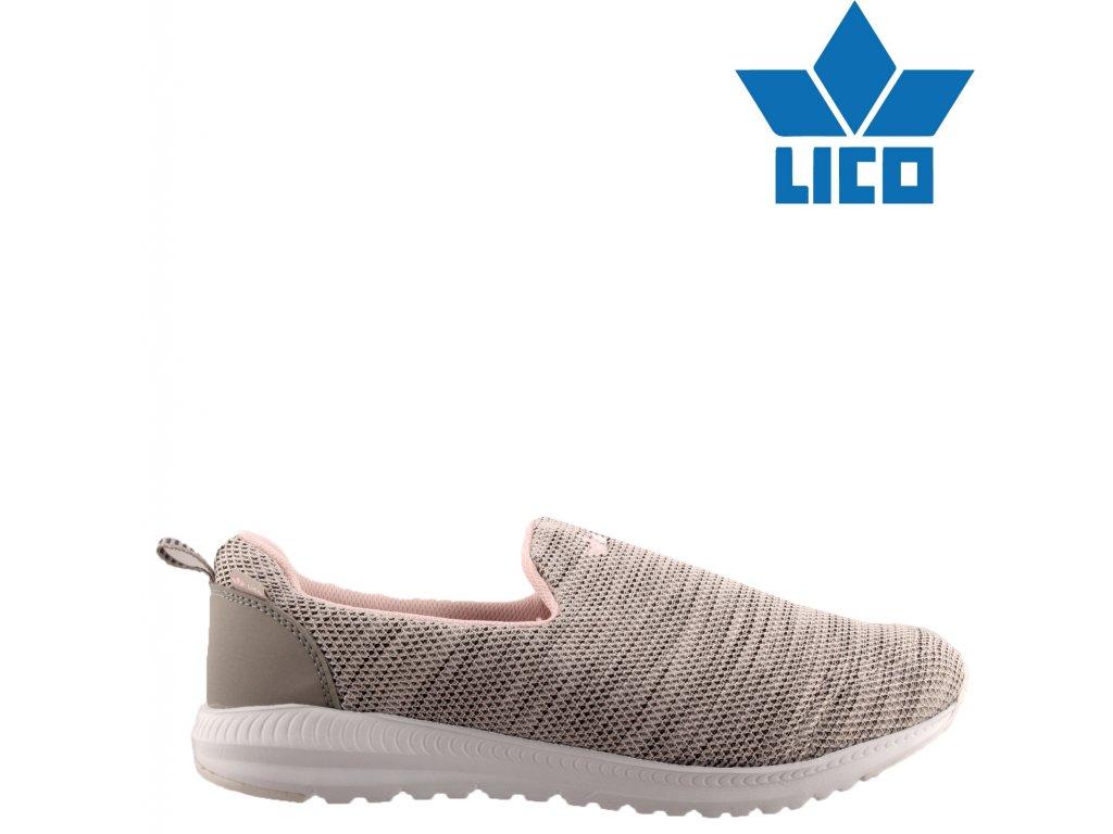 Sportovní přizpůsobivé boty LICO 90482104 nadměrná velikost 44