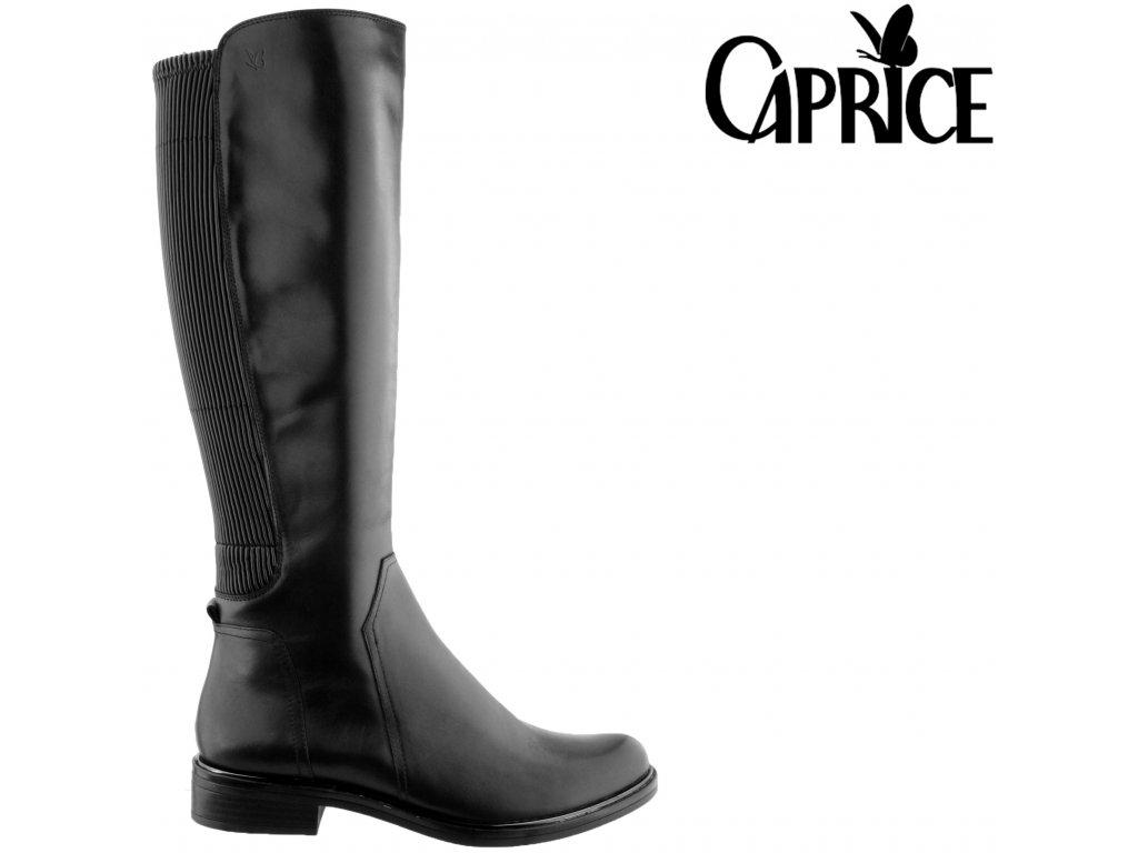 Dámské kozačky Caprice 25513-27 019 černá