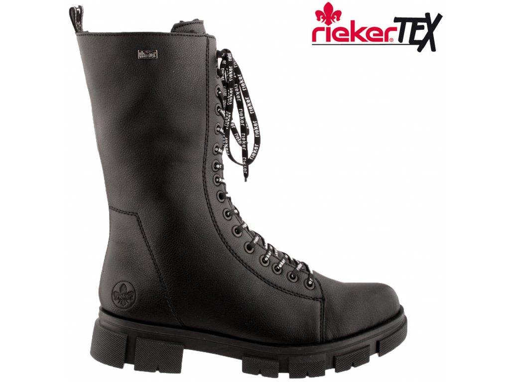 Dámská kotníková obuv RIEKER Y7130-00 černá