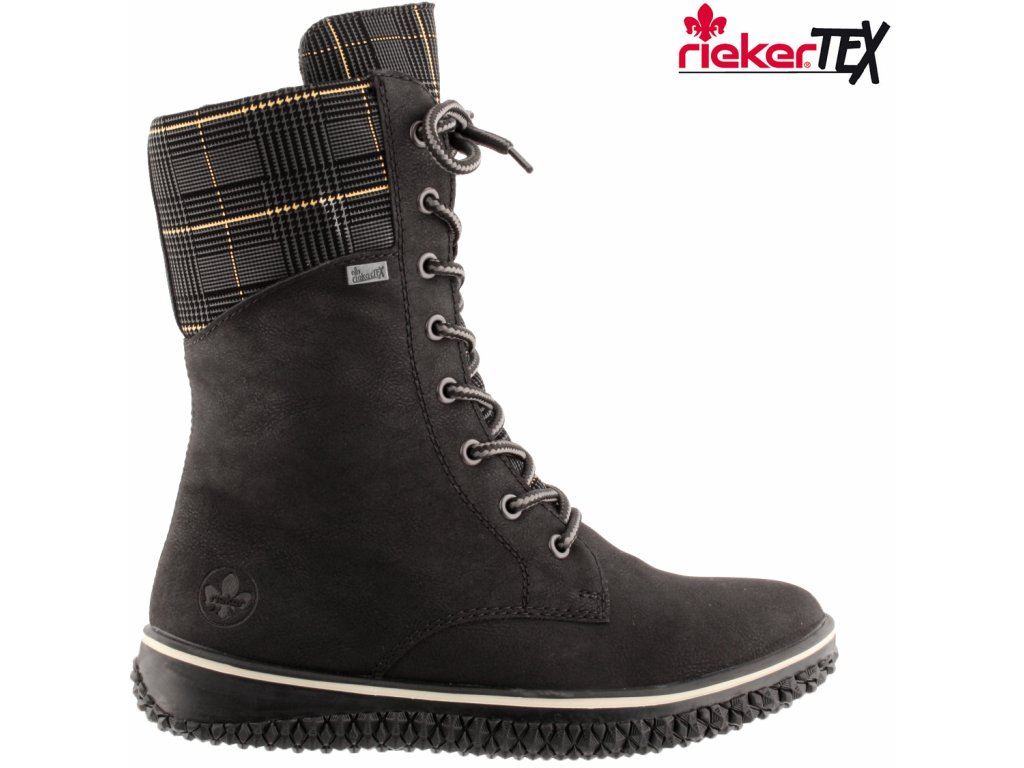 Dámská kotníková obuv RIEKER Z4245-00 černá