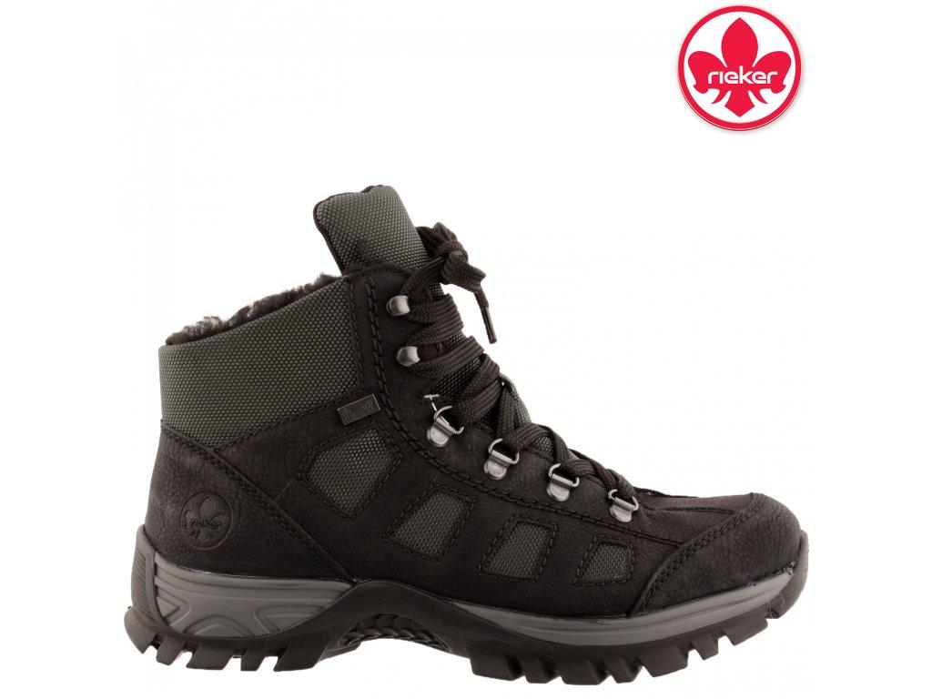 Dámská kotníková obuv RIEKER M9844-00 černá