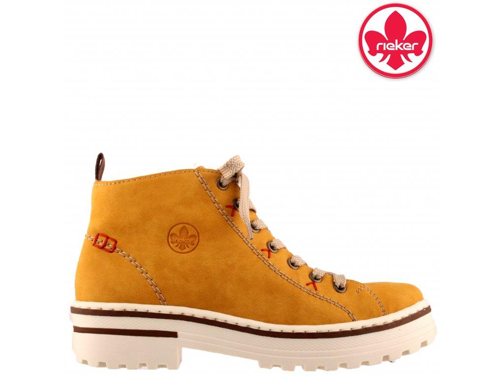 Dámské kotníkové boty farmery Rieker Z8102-68 sleva 962359